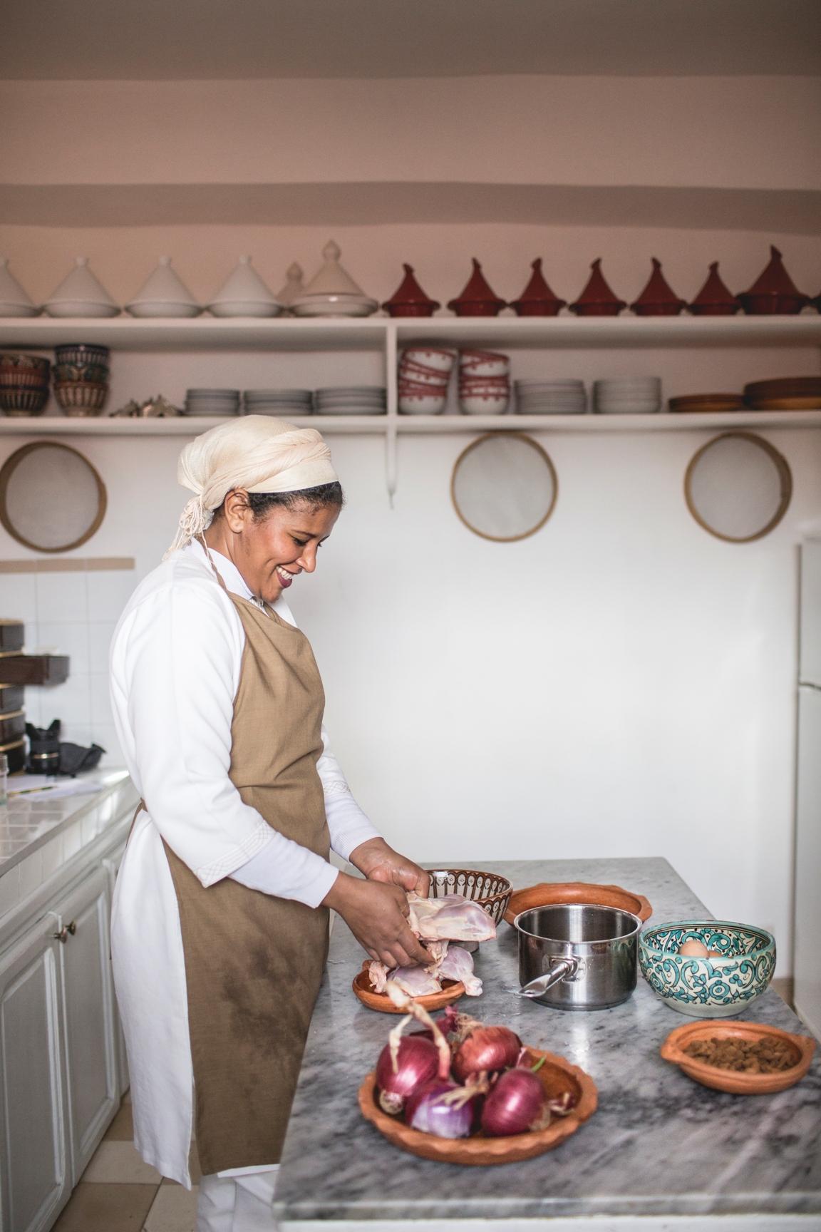 Atelier de cuisine marocaine service dar attajmil riad for Atelier cuisine marrakech