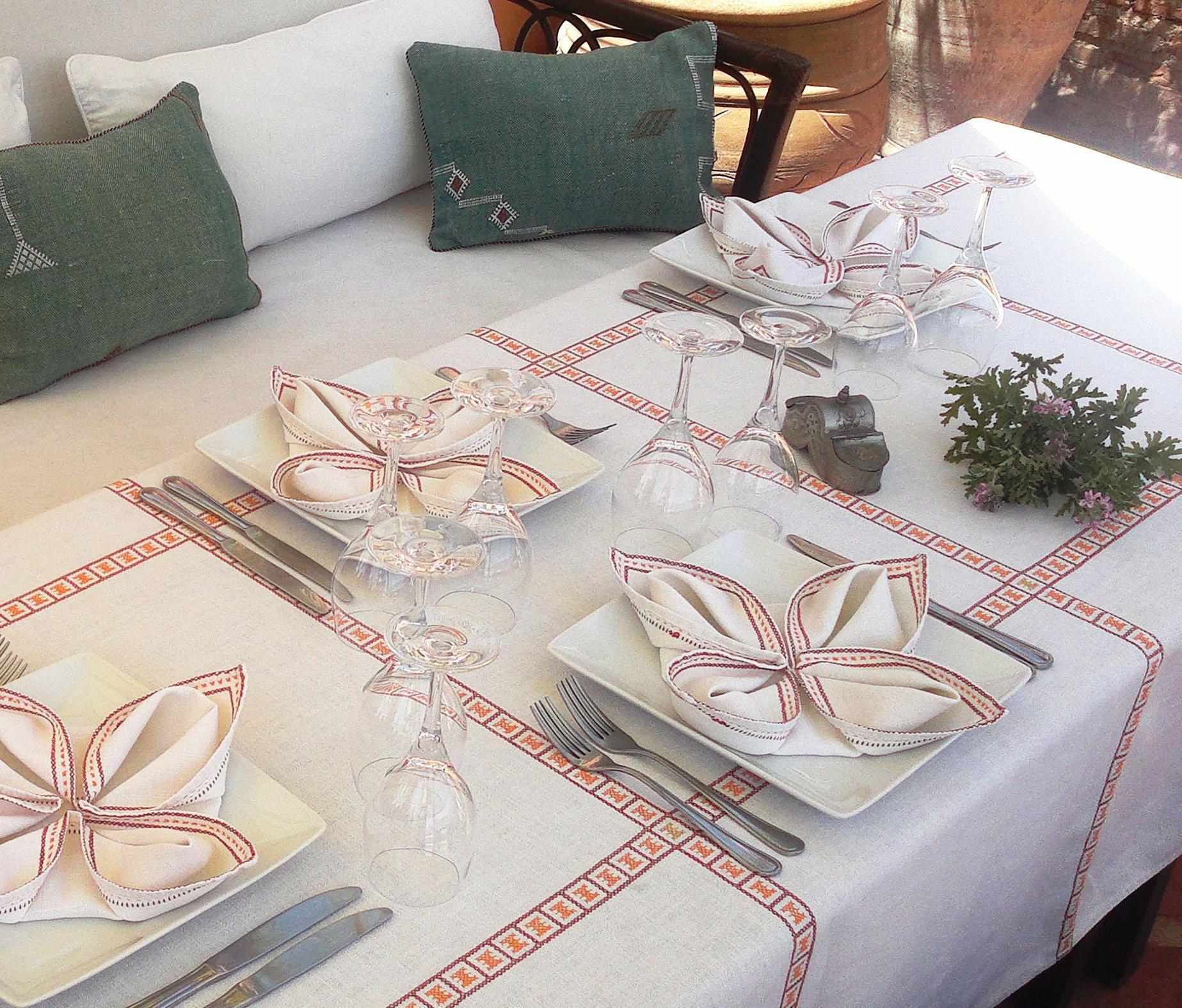 La tavola - Servizi / Dar Attajmil riad guest house maison d`hôtes ...